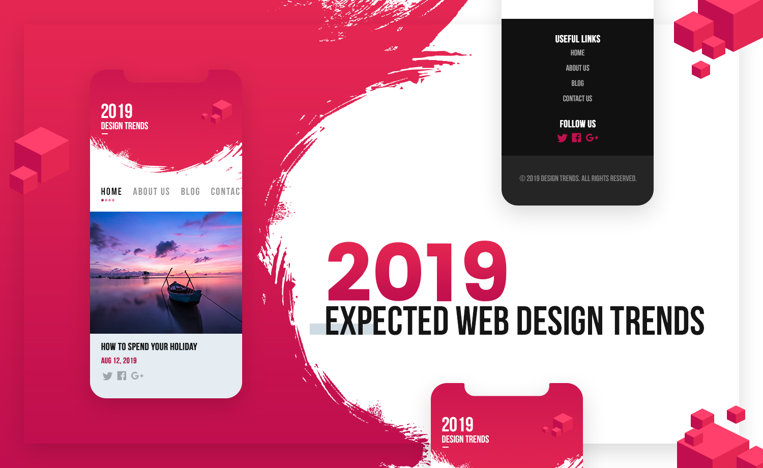 Expected Changes in Web Design for 2019